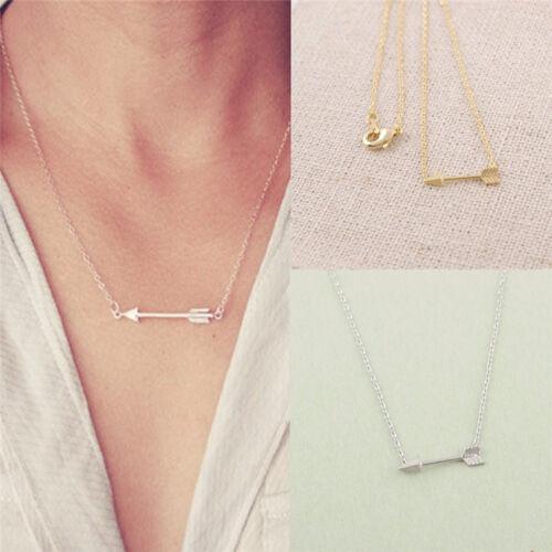 One Direction Arrow Women Fashion Pendant Collar Choker Chain Necklace ZY