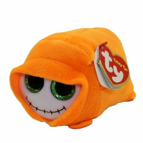 """2018 Halloween TY Beanie Boos Teeny Tys 4/"""" Trick Ghoul Stackable Plush MWMT/'s"""