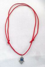 Red STRING KABBALAH LUCKY Necklace Against Evil Eye Success Hand Fatima Hamsa