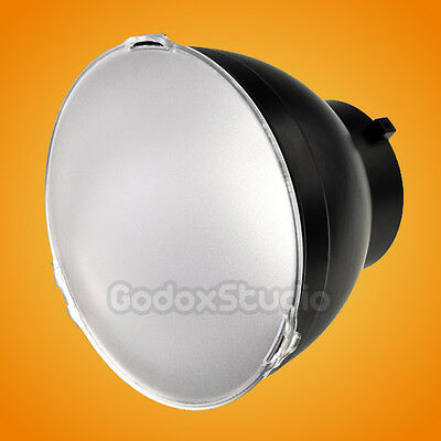 "7"" 18cm Studio Standard Reflector with Soft White Diffuser Filter Bowens Mount"