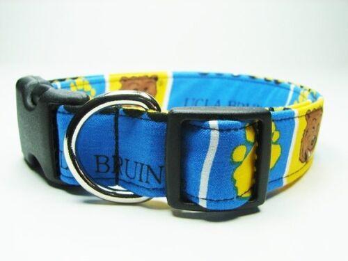 Charming UCLA Bruins College NCAA Handmade Dog Collar