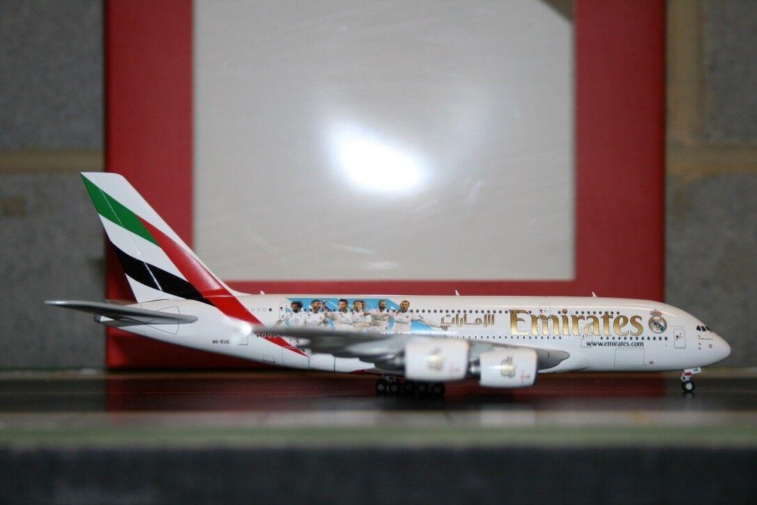 Gemini Jets 1 400 Emirates Airbus A380-800 A6-EUG  Real Real Real Madrid  (GJUAE1762) 1b0ae0