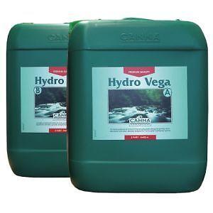 Canna Hydro Vega   A B Plant Nutrient for vegetative plants Hydroponics