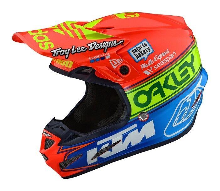 Troylee se4 composite team edition 2 motocross helmet