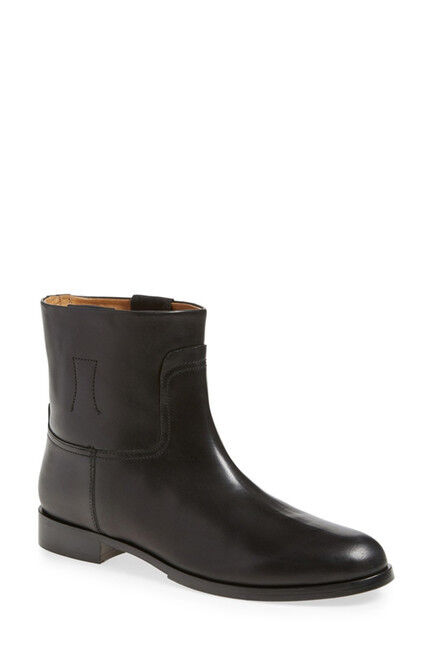 Rag & Bone 'Holly' Ankle Bootie Black Leather Women 525 Size 36 / 6