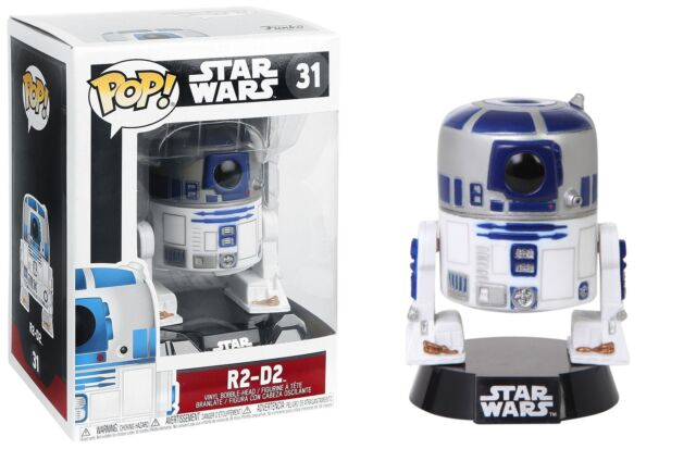Funko Pop Star Wars™: Series 4 - R2-D2™ Vinyl Bobble-Head #3269