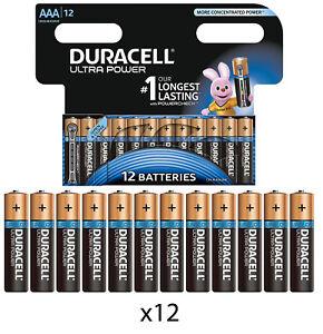 12-x-DURACELL-AAA-ULTRA-POWER-ALKALINE-BATTERIES-LR03-MX2400-MN2400-MICRO