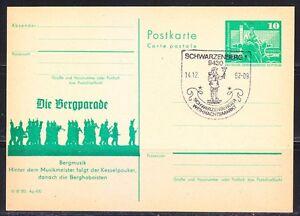 Germany-DDR-1982-post-card-Bergmusik-musicians-Schwarzenberg-Musical