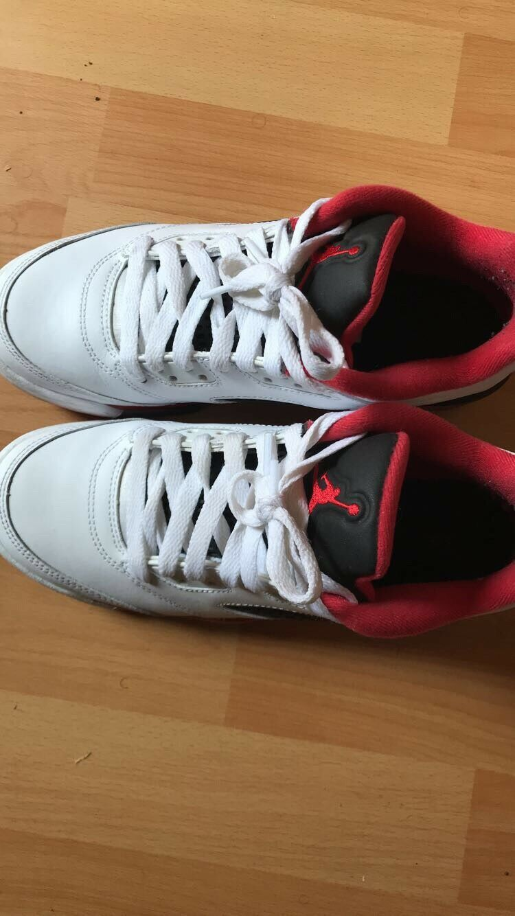 5b954d1f9d Air Jordan Fire Red size 6y 5 low nwcagc7505-Athletic Shoes - www ...