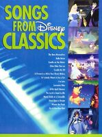 Songs From Disney Classics Sheet Music Big Note Songbook 000310320