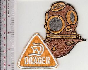 Details about SCUBA Hard Hat Diving Germany Draeger Bubikopf 3 Bolts  Draegerwerk, Lübeck orang