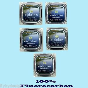 Eidolon-Premium-Crystal-Clear-Fluorocarbon-Fly-Fishing-Tippet-Material-98-feet