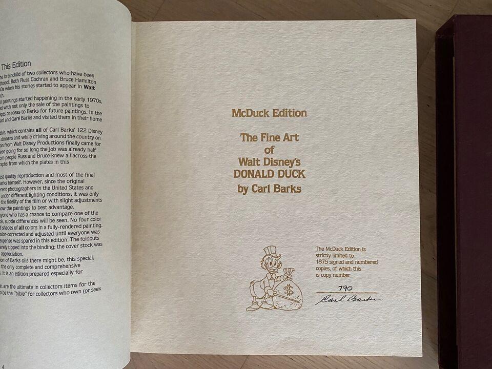 Tegneserier, The Fine Art of Walt Disney's Donald Duck by