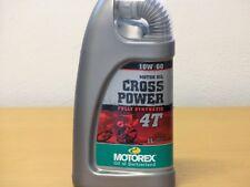 Motorex Cross Power 4T 10W-60 1 Ltr  vollsyn 4-Taktmotoröl für OffRoad