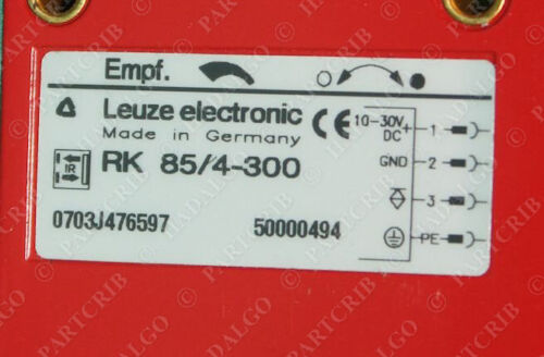 Leuze Electronic  RK 85//4-300 Diffuse Reflection Light Scanner NEW