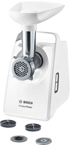 Zubehör 1500W Blockierleistung Bosch MFW3502W Fleischwolf CompactPower 500W