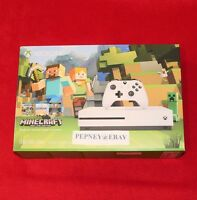 Microsoft Xbox One S Minecraft Favorites Bundle 500 Gb White Console Sealed