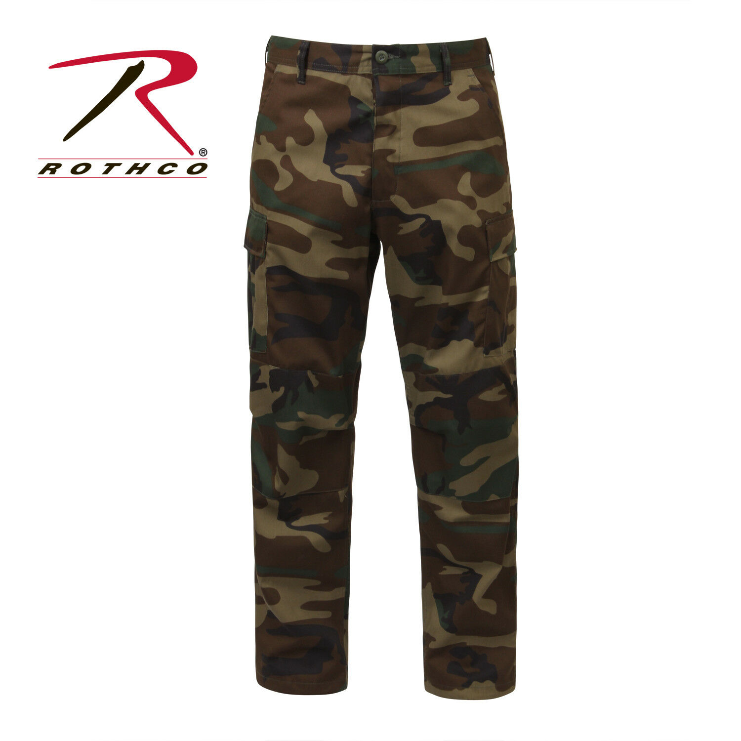 redhco Tactical BDU Pants Woodland  Camo  authentic quality