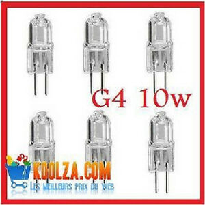 conome et puissante ampoules halog ne culot g4 10w g 4 bulbs light ebay. Black Bedroom Furniture Sets. Home Design Ideas