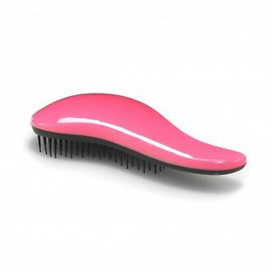 Easy-tease-Anti-tangle-Detangle-Brush-teaser-pink-black-use-wet-or-dry