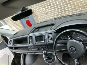 VW-T6-Bespoke-dashboard-mat-Dash-Carpet-Anti-slip-rubber-backed