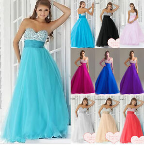 New-Bridesmaid-Wedding-Gown-Prom-Ball-Evening-Dress-Size-6-8-10-12-14-16-18