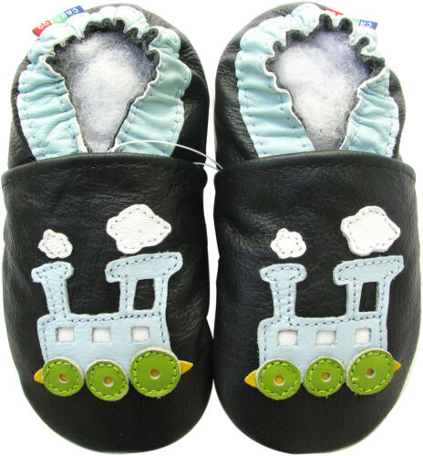 carozoo USA baby toddler kid soft sole leather slippers shoes up to 8 years