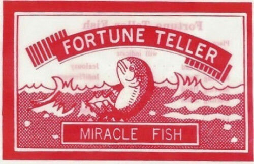 50 Fortune Teller Fish Kids Party Favor New Hot Gift Magic Palm Reading Miracle