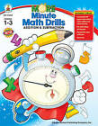 More Minute Math Drills: Addition & Subtraction by Carson Dellosa Publishing Company (Paperback / softback, 2008)