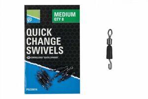 Preston-Innovations-Quick-Change-Swivels-All-Sizes-Coarse-Match-Fishing