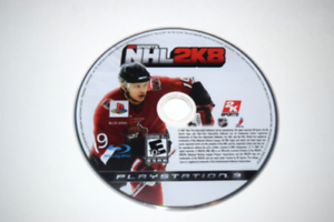 NHL 2K8 Playstation 3 PS3 Video Game Disc Only