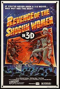 REVENGE OF THE SHOGUN WOMEN 1982 Movie Poster 27x41 #BMovie #KungFu #MoviePoster