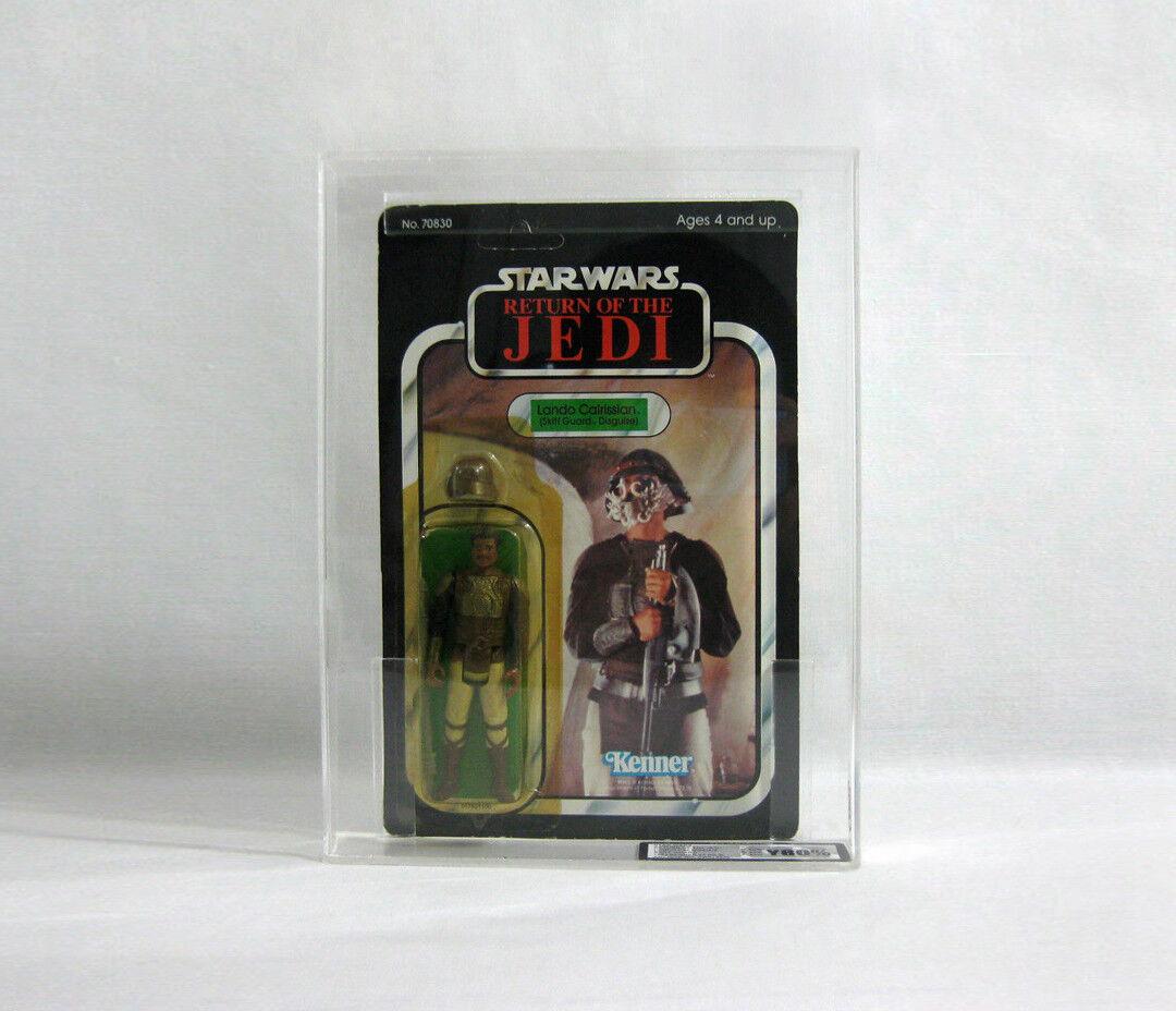 NUOVO 1983 Vintage Star Wars ✧ Lando Calrissian ✧ Skiff 65 BK UKG 80 85 85 AFA CT2