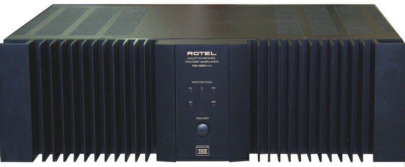 Rotel, RB-985 MkII, 5.0 kanaler