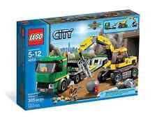 LEGO® City 4203 Grubenbagger + Transporter NEU OVP_Excavator Transport NEW MISB