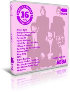 16-Backing-Tracks-MP3-In-The-Style-Of-ABBA-Pendrive-Listen-Demos-Playbacks