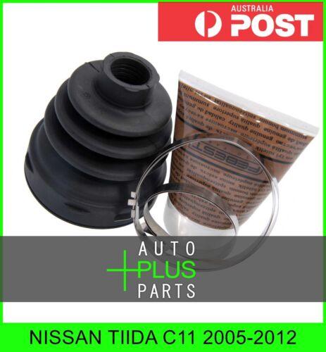 Fits NISSAN TIIDA C11 2005-2012 Boot Inner Cv Joint Kit 72.5X92X21.5
