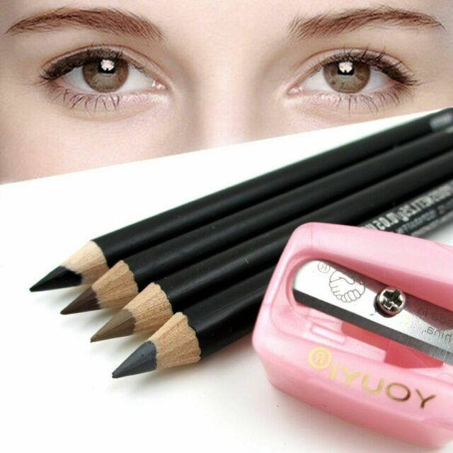 Precision Cosmetic Pencil Sharpener For Eyebrow Lip Liner Eyeliner Holes 2 K8R4