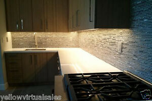 Kitchen Under Cabinet Waterproof Lighting Kit Warm White Soft LED