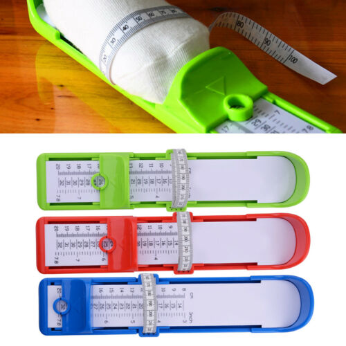 Child Foot Size Measuring Length Gauge Infant Shoes Accurate Measure Tool Ruler