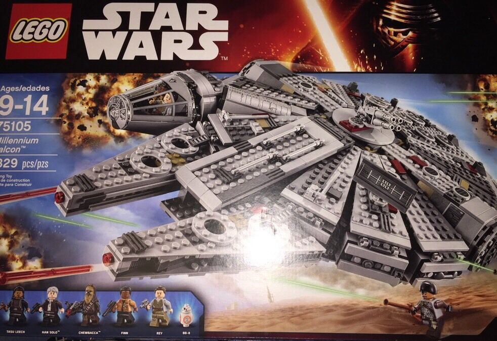 Estrella Wars Lego Halcón Milenario 9-14 Infantil 1329 Piezas