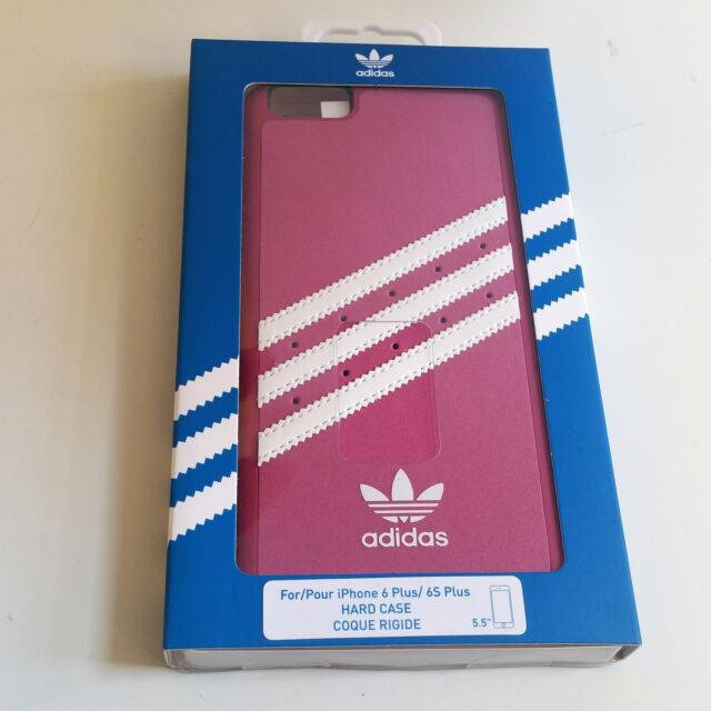 sports shoes f63f2 f27fd adidas Vintage Suede Molded Case iPhone 6 6s Plus Pink / White OEM