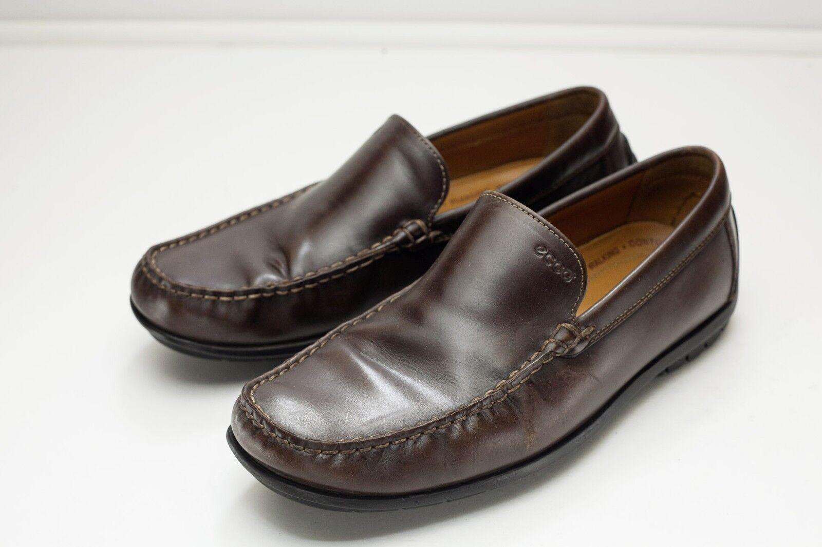 ECCO 7 7.5 Brown Loafer Men's