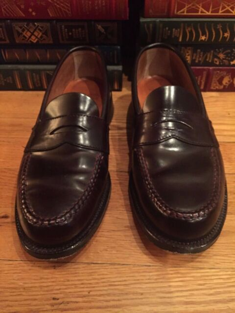 Alden LHS unlined loafers for Brooks Brothers Color #8 Size 8.5 D (Medium)