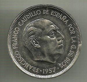ESTADO-ESPANOL-25-PESETAS-DE-1957-74-EBC-CASI-SIN-CIRCULAR
