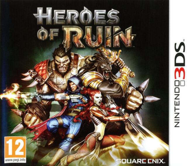 NINTENDO 3DS - HEROES OF RUIN - neuf sous cellophane - Version Française