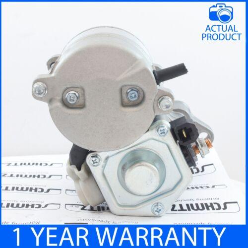 Se adapta a AIXAM varios 0.4//0.6 Diesel 2005-ON reforzadas Motor De Arranque Nuevo Z402//Z602-E3