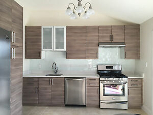 Details About Ikea Brokhult Kitchen Cabinet Doors Drawer Faces Sektion Gray Walnut Finish