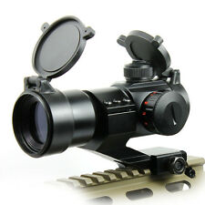 2015 Tactical Reflex Stinger 4 MOA Red and Green Dot Sight Scope Rail Mount