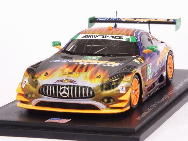 Mercedes AMG GT3 24h Daytona 2017 Morris - Said - Engel - V 1:43 SPARK US030